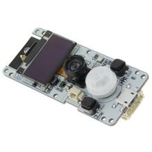 T-camera ESP32 WROVER& PSRAM модуль камеры Рыбий глаз объектив 0,96 OLED ESP32-WROVER-B OV2640 модуль камеры