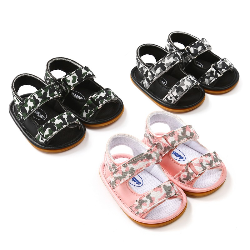 Summer Breathable Baby Boys girls shoes Kids Camo Hollow Out Anti-skid Casual Baby Cack Shoes smuuer 2018
