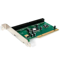 StarTech.com 2 Port PCI IDE Controller Adapter Card, PCI, IDE/ATA, ITE IT8212F, 0.133 Gbit/s, 8.27 mm, Windows 10 Education,Wind