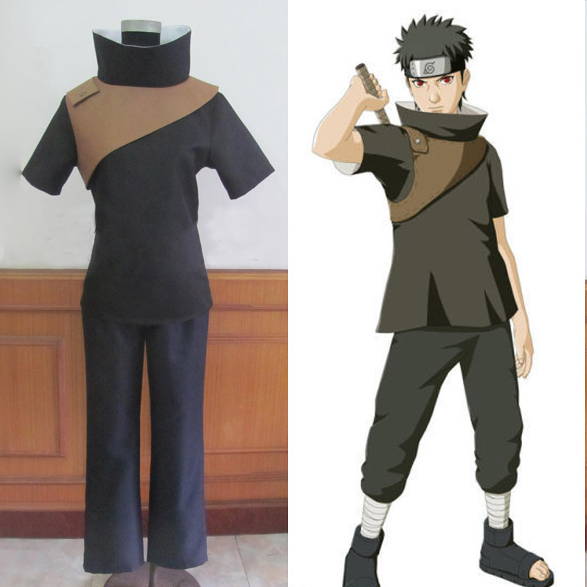 New Arrival Anime Naruto Cosplay Costumes Uchiha Shisui Cosplay Clothes Set for Christmas and Halloween