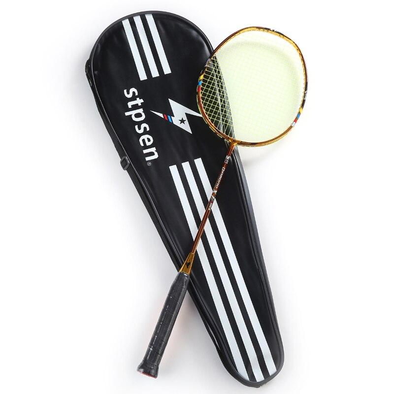 Raquette de Badminton en Fiber de carbone or diamant X7 2018 Stpsen raquette de moulage secondaire