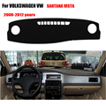 Car dashboard covers For VOLKSWAGEN VW SANTANA VISTA 2008-2012 dashmat pad dash covers Instrument platform accessories