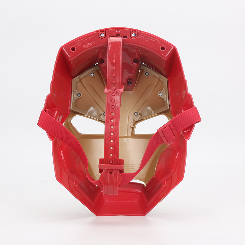 Hasbro Marvel Toys Electronic Captain America Civil War Iron Man Tech Fx Mask Lights Phrases Avengers Superhero Full Face Mask #3