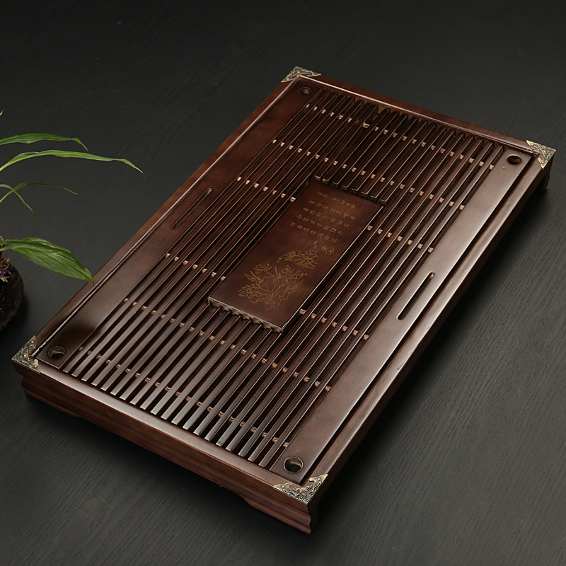 Traditional Solid Wooden Gong Fu Tea Table 1