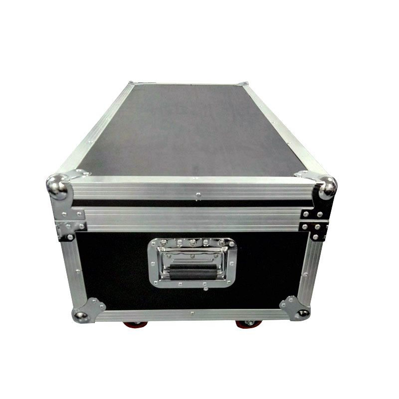 16 pieces <font><b>LED</b></font> <font><b>7X12</b></font> 4IN1 RGBW Light with filght case Stage Profession Dmx 512 Effect Lighting power in/out For Clubs, Theaters
