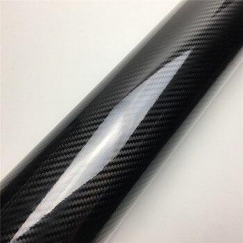 2D 3D 4D 5D 6D Carbon Fiber Vinyl Wrap Film Car Wrapping Foil Console Computer Laptop Skin Phone Cover Motorcycle 9