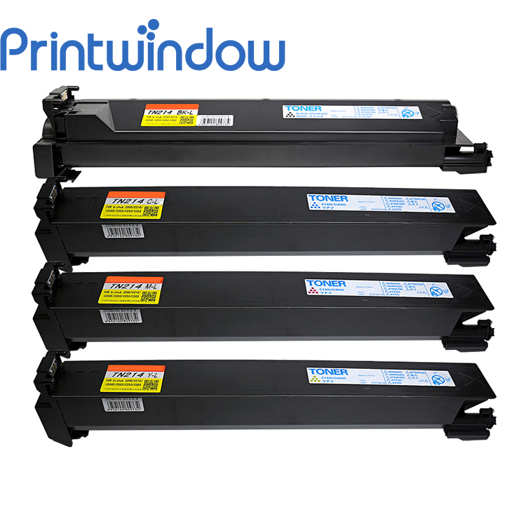 Printwindow Compatible Toner Cartridge for Konica Minolta Bizhub C200/203/353 4X/Set printwindow compatible toner cartridge for konica minolta bizhub c25 c35 4750en 4750dn 4750 4x set