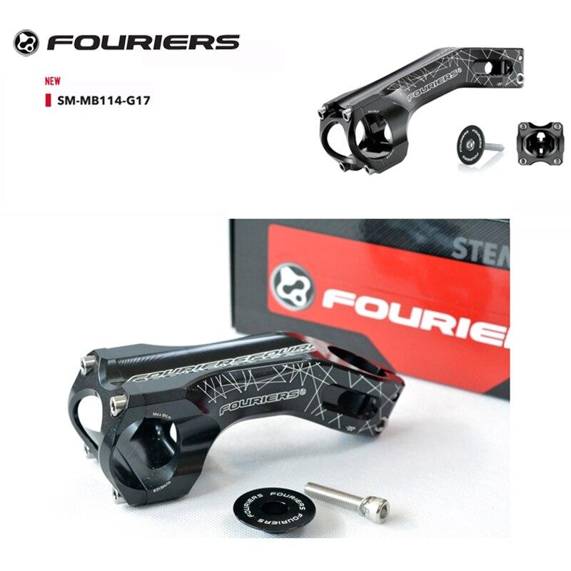 Fouriers Aluminum MTB XC Stem 17 Degrees 31 8mm Bar Bore 28 6mm 1 1 8