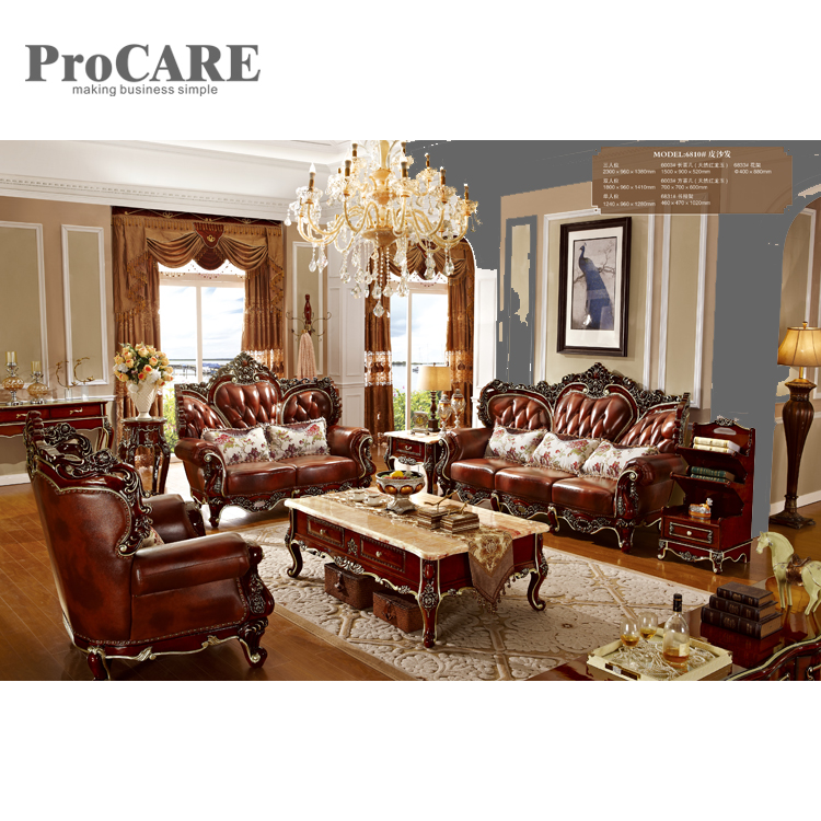Awesome Us 4399 0 Luxury Solid Wood 1 2 3 Leather Sofa Set With Center Table And Good Quality 6810 In Living Room Sets From Furniture On Aliexpress Com Download Free Architecture Designs Scobabritishbridgeorg