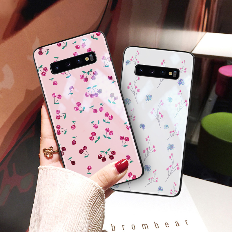 Yagoo Fashion Cell Phone Case For Samsung Galaxy S8 S9 S10 PLUS E Cases Hard Back