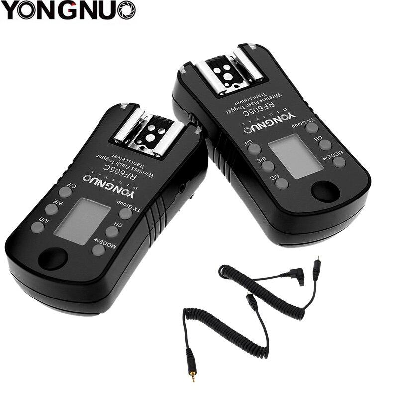YONGNUO RF 605 RF605C RF 605C RF605 C Wireless Flash Trigger สำหรับ Canon 650D 1000D 1100D 1000D อัพเกรดรุ่น RF 603II-ใน อุปกรณ์เสริมสำหรับสตูดิโอถ่ายภาพ จาก อุปกรณ์อิเล็กทรอนิกส์ บน AliExpress - 11.11_สิบเอ็ด สิบเอ็ดวันคนโสด 1