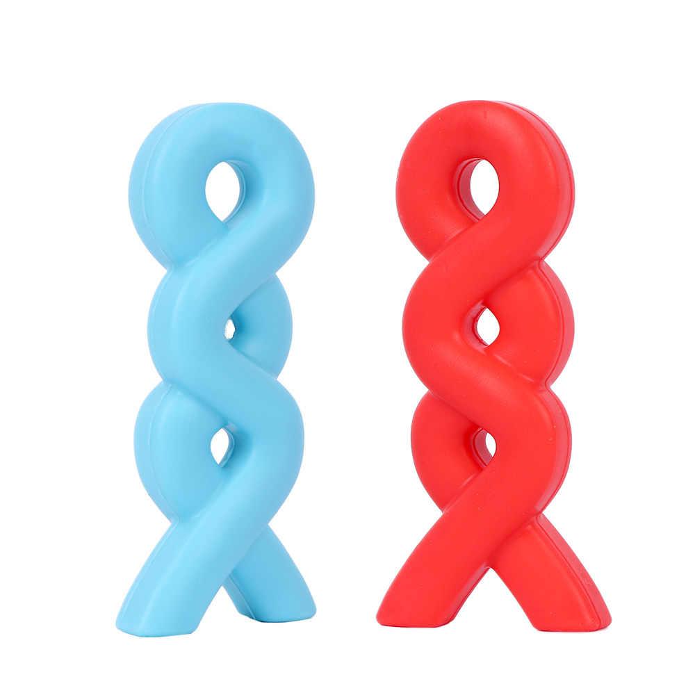 Детская здоровая соска ожерелье-прорезыватель подвеска силиконовый Прорезыватель для зубов Соска-Ниблер аутизм сенсорная игрушка красочные