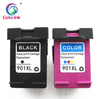 hp officejet ColoInk 2Pack For HP 901XL 901 Ink Cartridge Remanufactured  for HP Officejet 4500 J4500 J4540 J4550 J4580 J4640 J4680c printers (1)