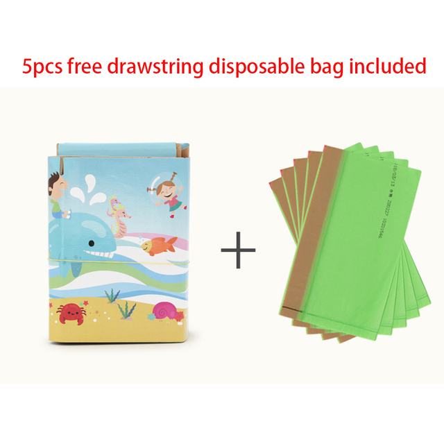 Foldable Child Kids Portable Folding Potty Seat Boys Girls Baby Travel Toilet Training Infant Emergency Potties with Free Bags 3