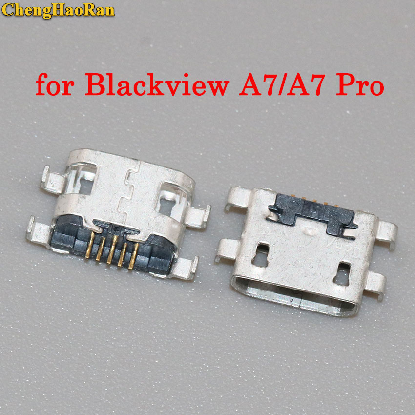 ChengHaoRan 2pcs Mini micro USB Jack Connector Socket plug dock 5pin female parts For Blackview A7 A7 Pro A7Pro Charging PortChengHaoRan 2pcs Mini micro USB Jack Connector Socket plug dock 5pin female parts For Blackview A7 A7 Pro A7Pro Charging Port