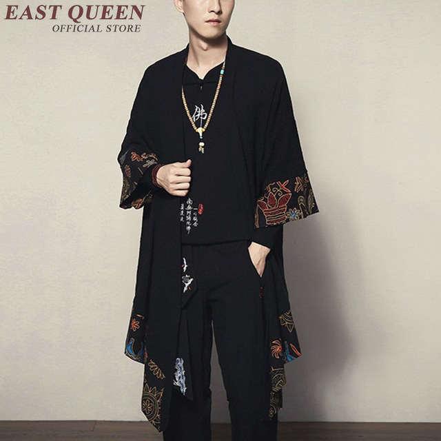 3d26be569 € 15.23 72% de DESCUENTO|Kimono japonés cardigan hombres haori yukata  hombre samurai traje ropa kimono Chaqueta Hombre kimono camisa yukata haori  ...