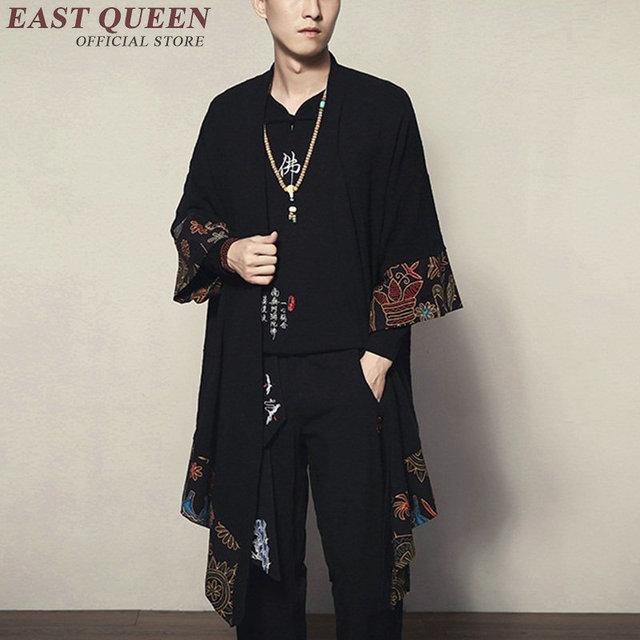 Японские кимоно кардиган для мужчин haori yukata мужской самурайский костюм одежда кимоно куртка мужское кимоно рубашка юката haori KK1534