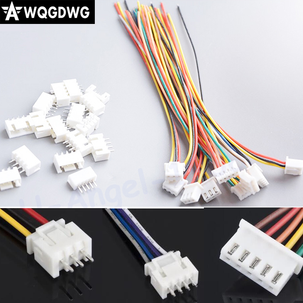 10pairs//Set 2Pin 10cm Connector Plug Wire Cable 10 Female+10 Male Fad Gr