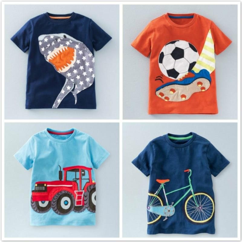 Baby Boys Kids Hang Loose Peace Tie Dye Soft Short Sleeve Tee Tops Size 2-6