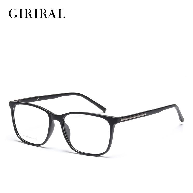 TR90 Men Eyewear Frames Retro Optical Clear Designer Brand Myopia Eyeglasses Frame #YX0287