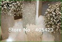 1 KG, 50000 unids/lote, Deco Cristales de Agua Perlas Esferas Del Suelo Del Fango de la flor Plantación Jardín decoración de la boda, 13 colores para elegir
