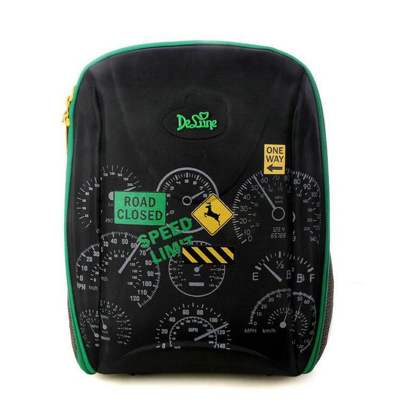 New Fashion Delune Brand Kids School Bags for Girls Boys Waterproof SchoolBag Children Orthopedic Backpack Mochila Escolar