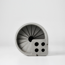 3D Runden treppe schritte leiter Beton zement silikagel formen zahnbürstenhalter formen federhalter form ton silikonform