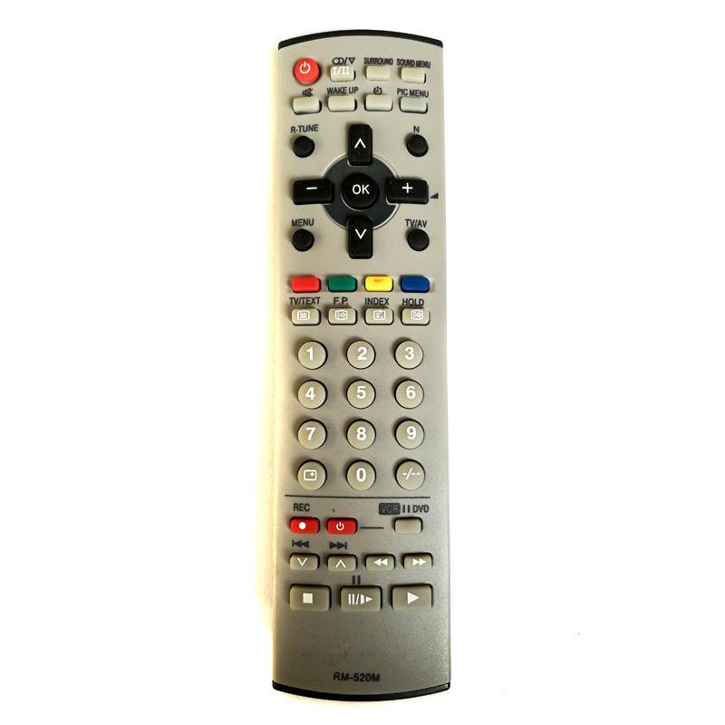 New Universal For Panasonic RM-520M TV Remote Control LS-223 N2QAJB000080 EUR7628030 Fernbedienung new for panasonic tv universal remote for n2qayb000570 n2qayb000703 n2qayb000706