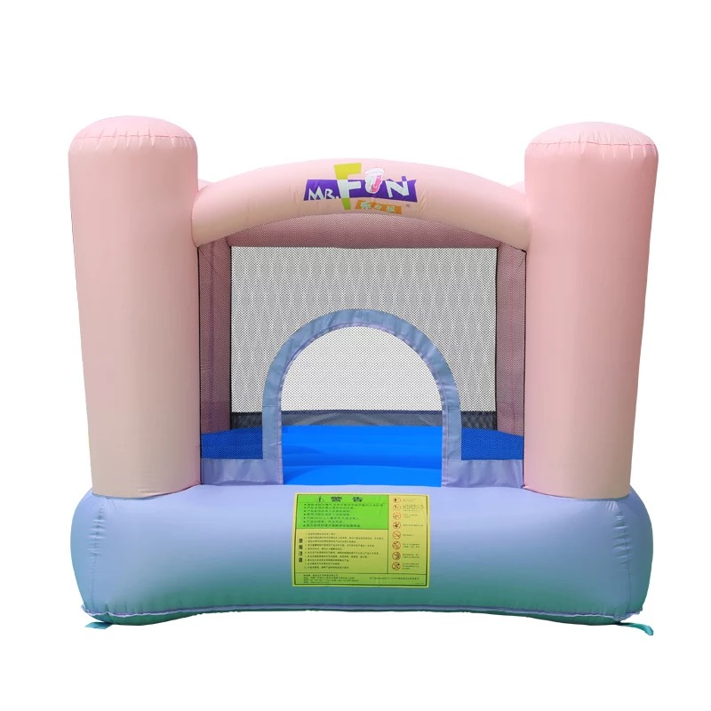 HTB1TCb3PXXXXXa2aFXXq6xXFXXX6 - Mr. Fun Kids Pink Inflatable Bouncer Home Trampoline with Blower