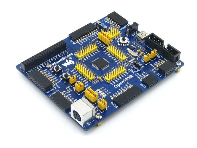 module Open103R Standard# STM32F1 Development Board STM32F103RCT6 STM32F103 STM32 ARM Cortex-M3 + PL2303 USB UART Module Kit esp 07 esp8266 uart serial to wifi wireless module