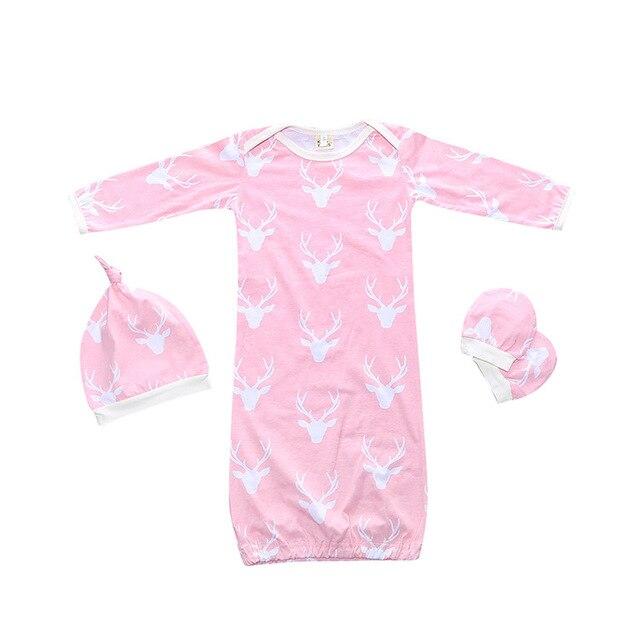 baby girl sleeping clothes bathrobe unisex cotton infant newborn ...