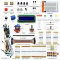 Adeept Nuevo Proyecto 1602 LCD Kit de Inicio Para Raspberry Pi 3 2 B/B + Servo LED PDF Python LCD1602 Freeshipping Libro diy diykit