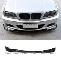 For H Style Car Styling PU Material Front Lip Bumper Spoiler for BMW E46 M TECH M Sport Package OLOTDI