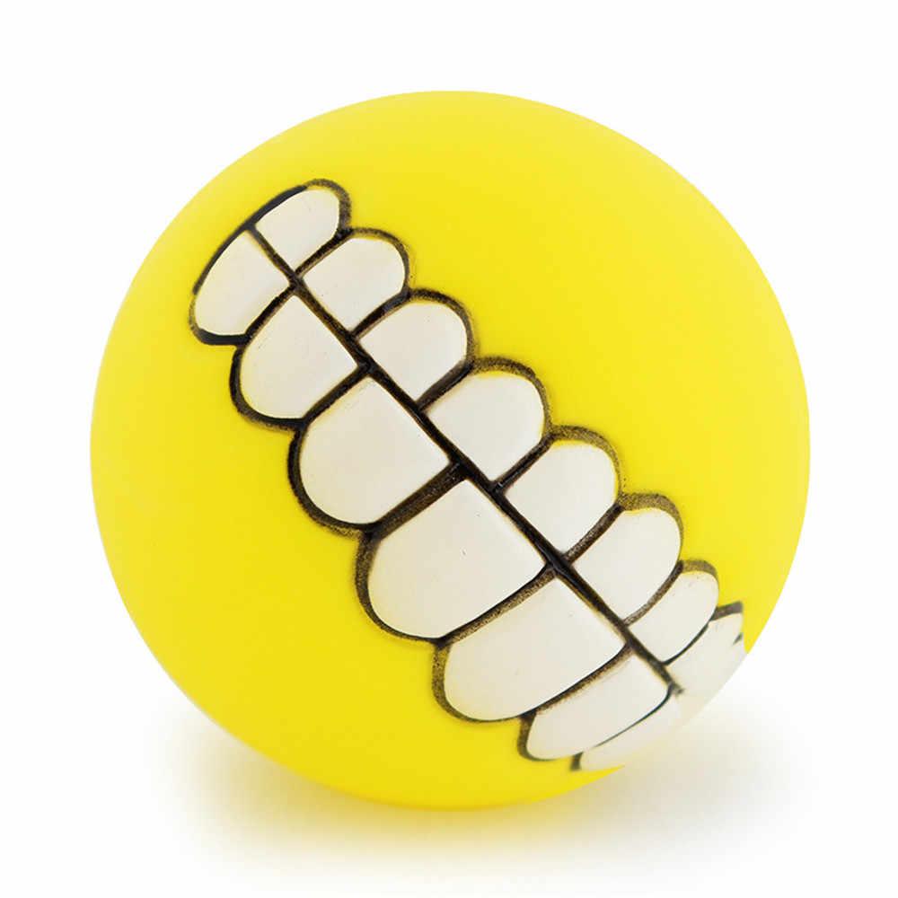 7,5 см Забавный ПВХ Кошка Собака Мячик с шипами игрушка нестираемый жевательный писклявый звук собаки играющие игрушки укуса устойчивый мяч для собаки метатель