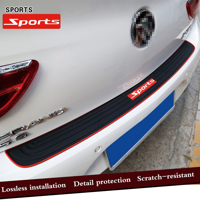 Car Trunk Door Crash Protection Strip Car Styling Scratch Protection Strip For Toyota corolla rav4 camry prius hilux avensis