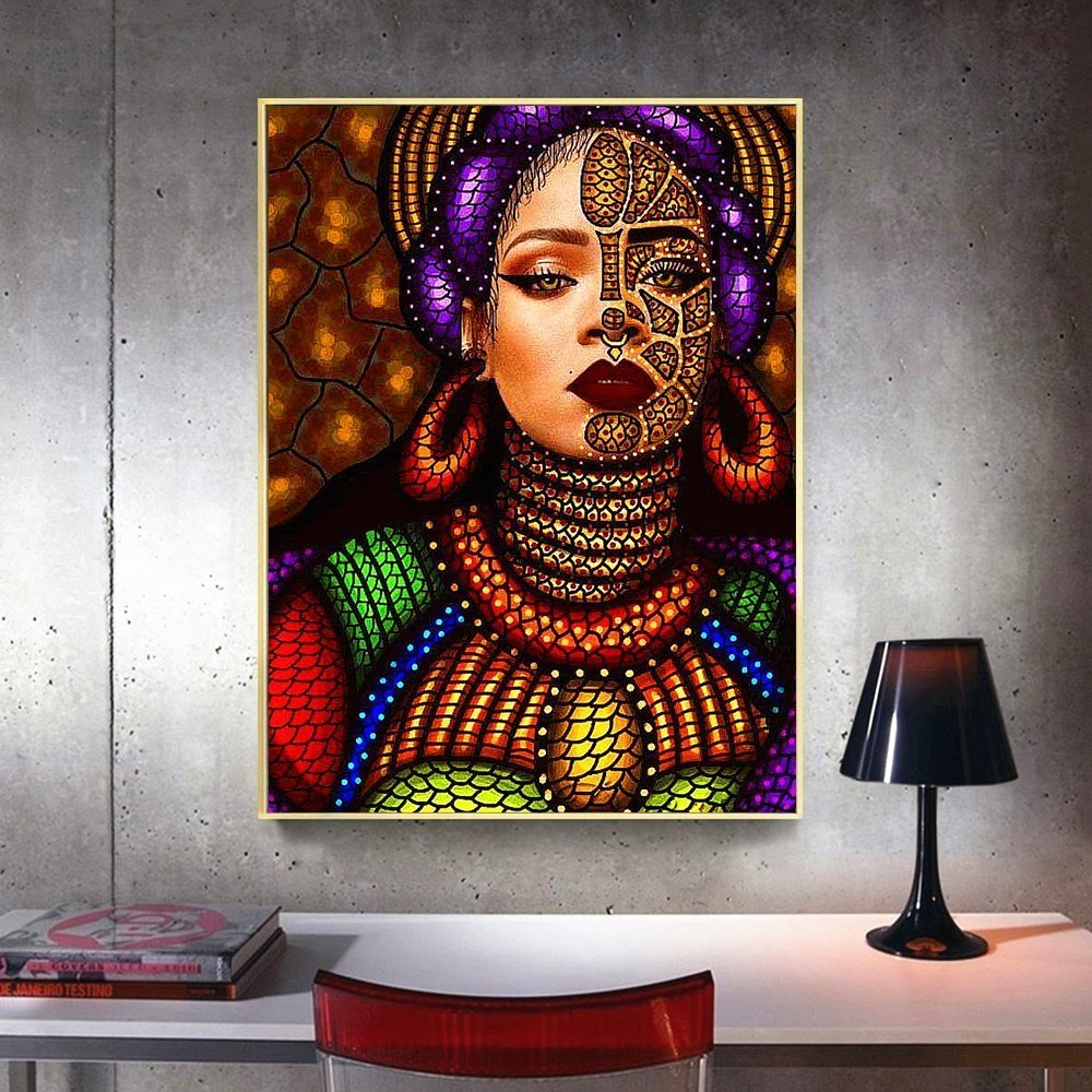 Diamond Painting Full Drill Diamond Embroidery Girls Diamond Mosaic Girl Diamond Painting Round Stones Pictures Rhinestones in Diamond Painting Cross Stitch from Home Garden