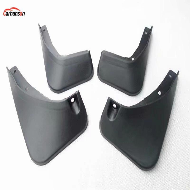 for car styling MG ZS 2017 2018 accessories mud flaps flap splash guard Front Rear Mudguards Fender car-styling black 4pcs/set 4pcs front rear mud splash flaps guard fender for benz v class vito metris viano w447 2015 2016 with running board