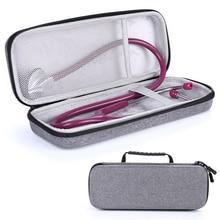 Yeni Sert Stetoskop Kapağı için Taşıma Çantası 3m Littmann Classic III/Littmann Kardiyoloji 4/MDF/Omron stetoskop ve LED Penlight