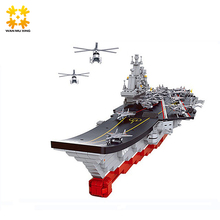 WMX Nuovo M38-B0399 Cinese Militare Building Blocks Set Modelli Portaerei Liaoning Edilizia Educativi Hobby Giocattoli