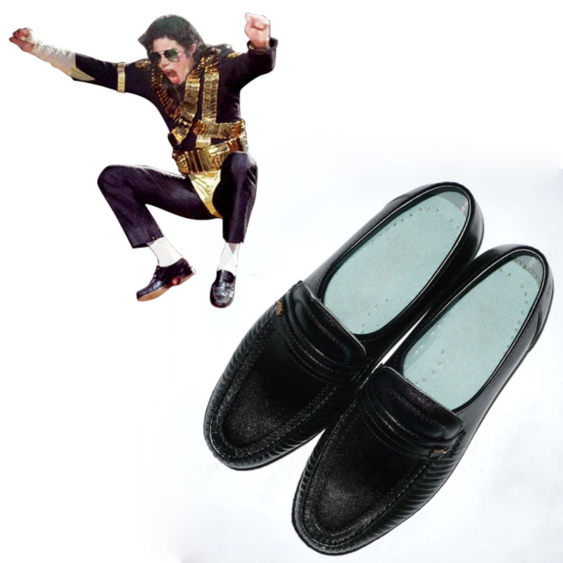 US $48 95 11% OFF|Deluxe Michael Jackson Billie jean Cosplay Shoes Michael  Jackson Performance Dance Shoes L0713-in Shoes from Novelty & Special Use