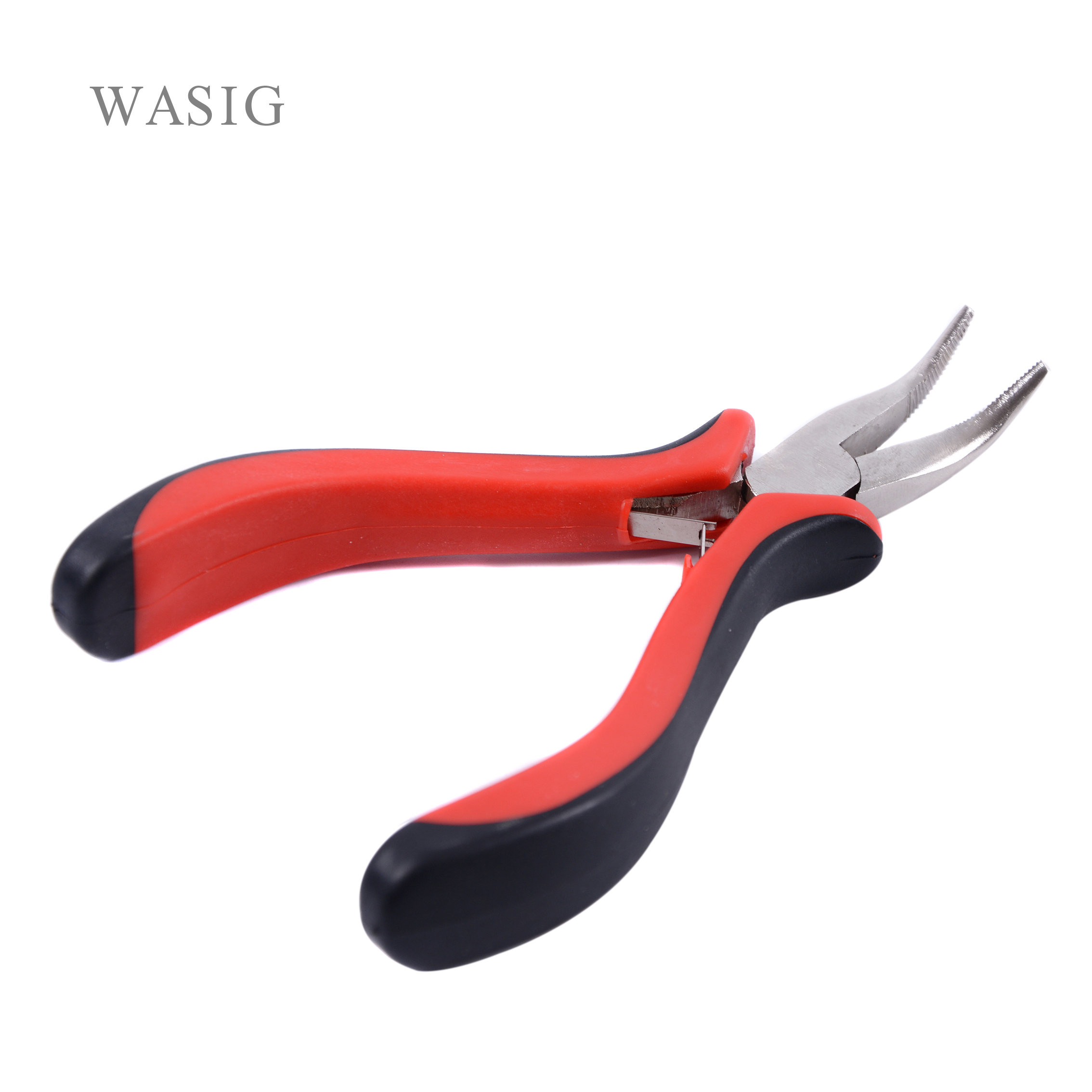 Bend Tip Pliers DIY Hair Extension Tool Clip Pliers For Micro Rings/links/beads & Feather Hair Extension