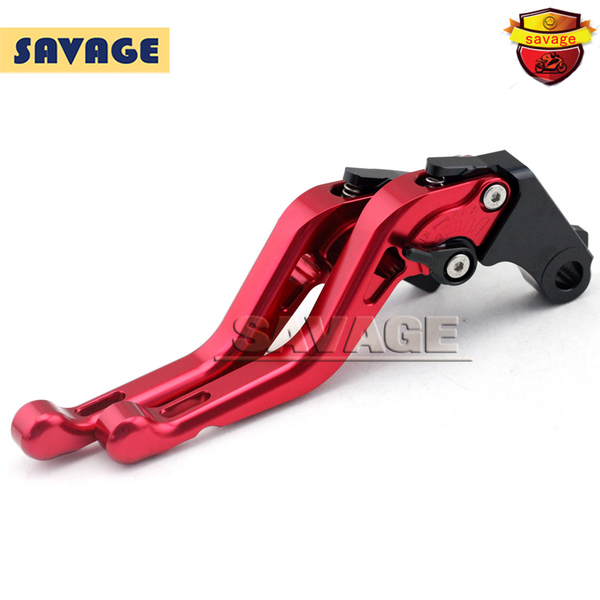 цены  For HONDA CBR250R CBR300R CBR400R CBR500R Red Motorcycle CNC Billet Aluminum Short Brake Clutch Levers