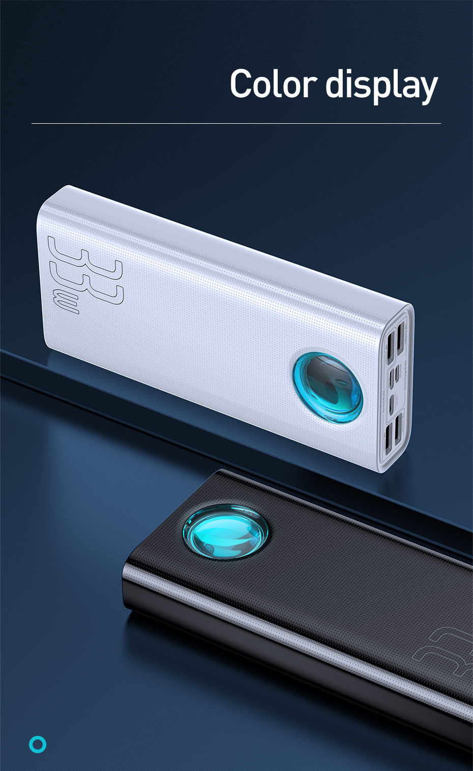 Best Deal & Cheap - Power Bank 30000mAh Type-C PD 3.0 Fast Charger 20