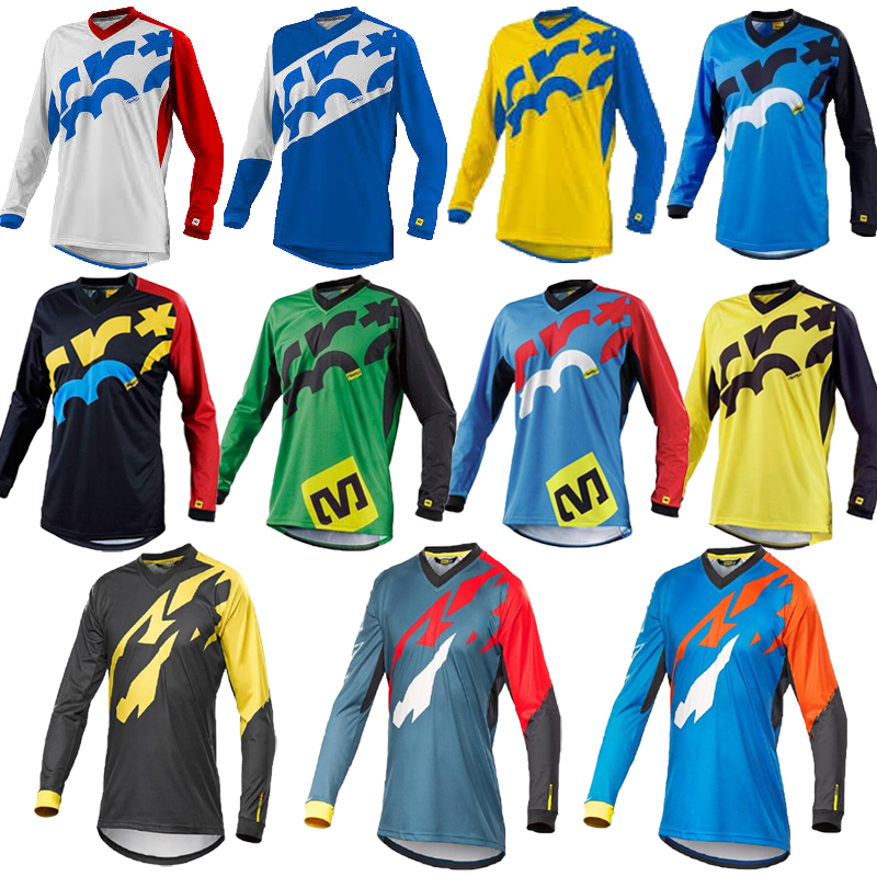 Cycling Jersey Clothing Shirt Downhill-Uniform Motocross-Clothes Mountain-Bike Maillot Mtb
