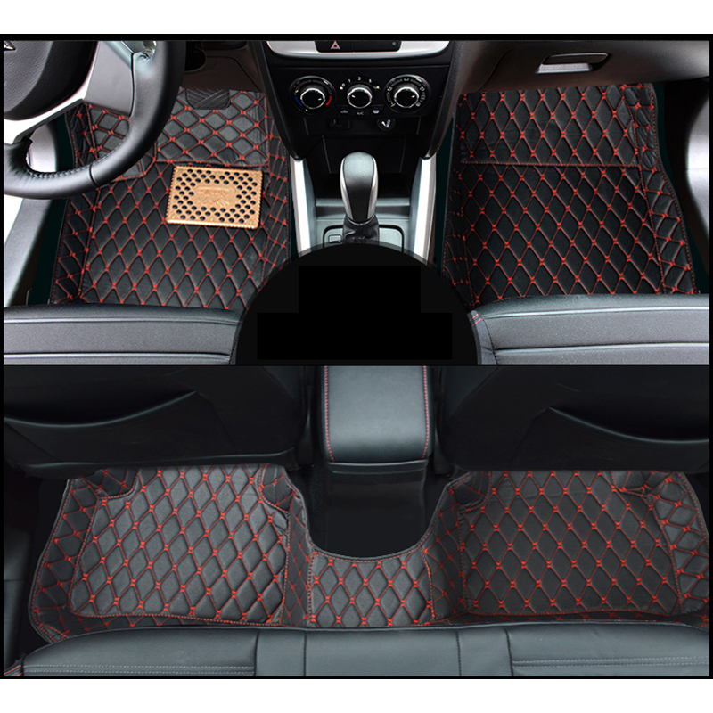 lsrtw2017 fiber leather car interior floor mat for <font><b>suzuki</b></font> <font><b>SX4</b></font> <font><b>SX4</b></font> S-Cross 2006-2020 <font><b>2019</b></font> 2018 2017 2016 2015 2014 2013 image