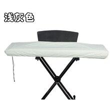 Серый черный 61/88 ключ электронная клавиатура пылезащитный чехол водонепроницаемый пианино клавиатура Универсальный чехол с Кулиской
