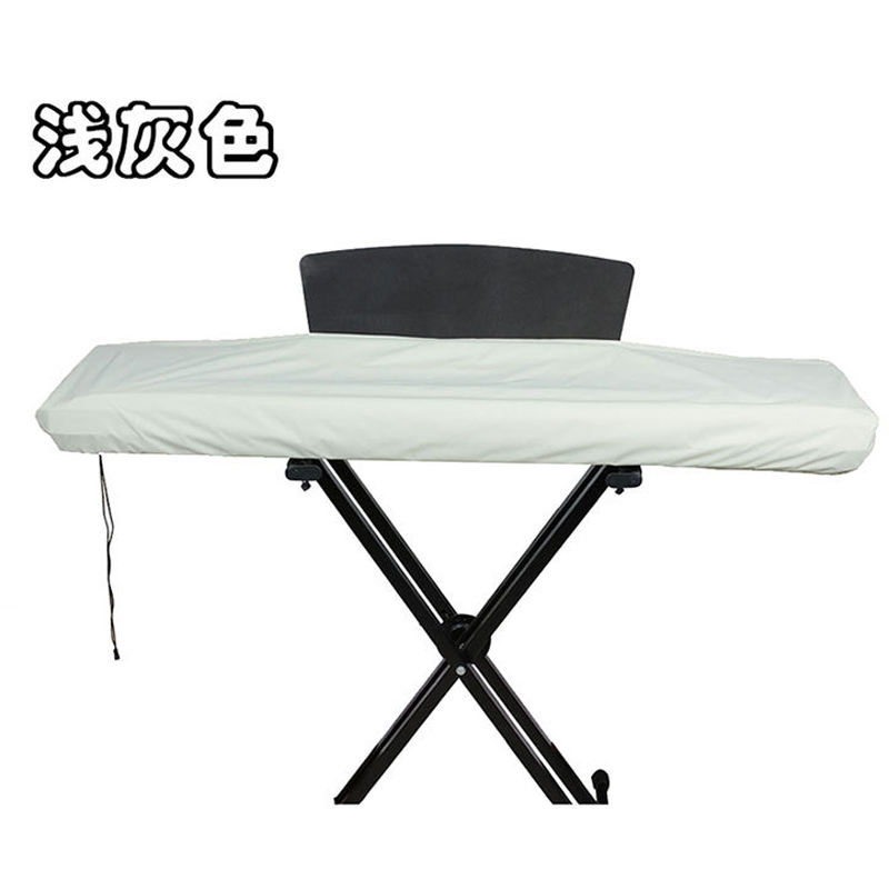 Gray Black 61/88 Key Electronic Keyboard Dust Cover Waterproof Piano Keyboard Universal Cover With Drawstring