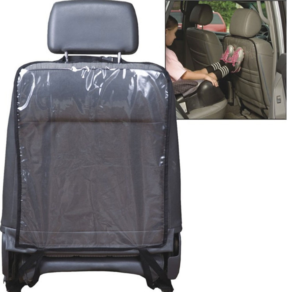 Kick Mats Car Back Seat Cover Protects Seats From Dirt/Footprints