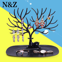 New Multifunctional Deer Shape Jewelry Display Earring Bracelet Necklace Ring Display Stand Nice Gift For Lover