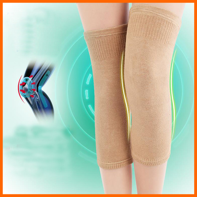 48ad395918 Arthritis knee warm spring and summer fashion slim warm leggings knee brace  elderly care for men and women